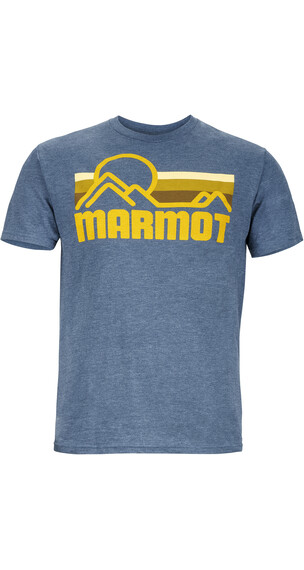 Marmot M's Marmot Coastal Tee SS Navy Heather